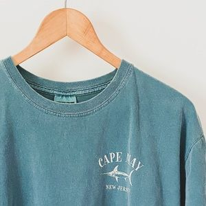 Vintage Wash Cape May Graphic Tee
